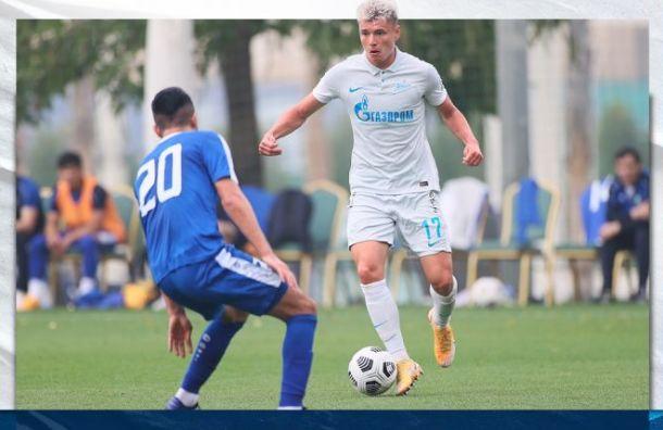 «Зенит» разгромил сборную Узбекистана втоварищеском матче