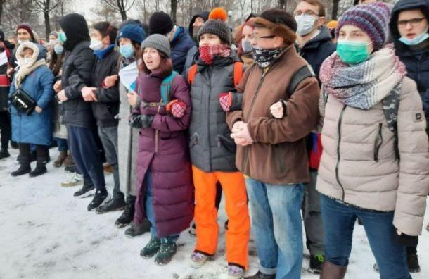Втылу протеста