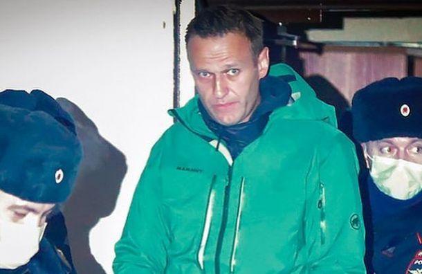 Навального поставили научет вСИЗО как склонного кпобегу
