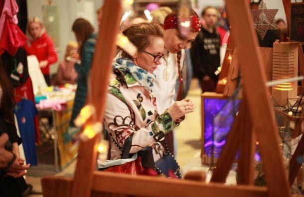 Фестиваль хендмейда «Петербургская ярмарка» откроется впраздничные выходные