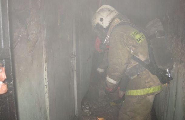 Два человека погибли при пожаре наБольшой Пороховской улице