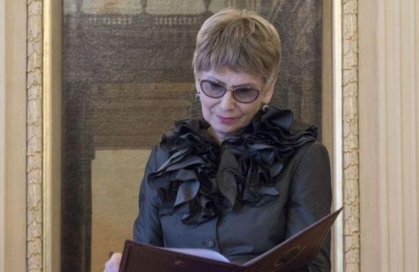 Умерла председатель правления Всемирного клуба петербуржцев Валентина Орлова
