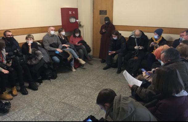 Андрей Ломов получил два года условного срока после акции протеста