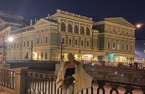 Волочкова неожиданно приехала вПетербург иназвала любимые места