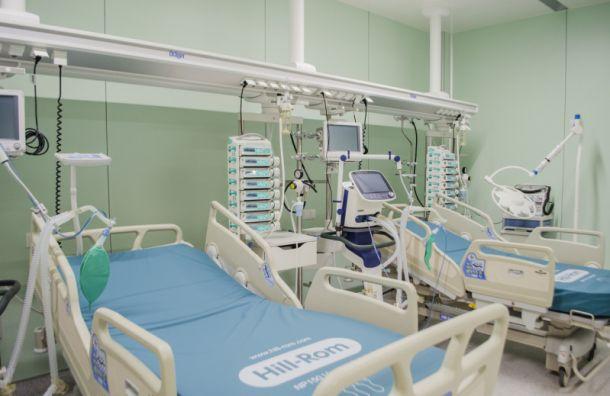 Количество госпитализаций сCOVID-19 вПетербурге увеличилось на11,01%