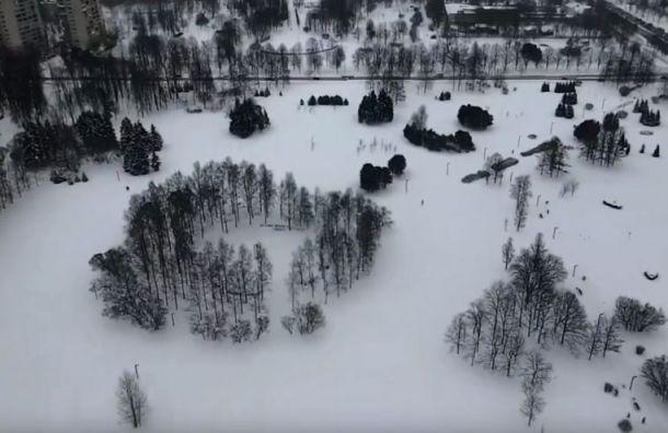 Активисты смонтировали ролик взащиту парка Академика Сахарова