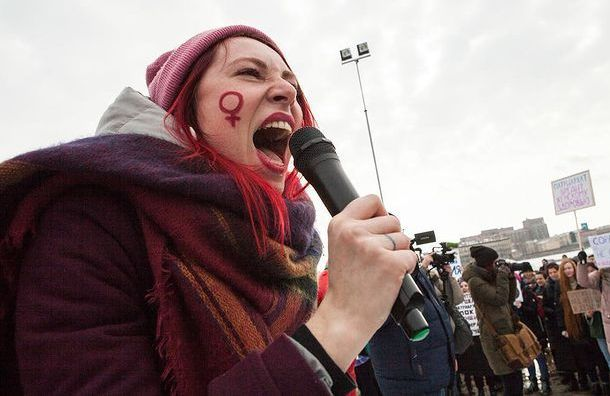 Смольный отказал феминисткам вшествии на8марта