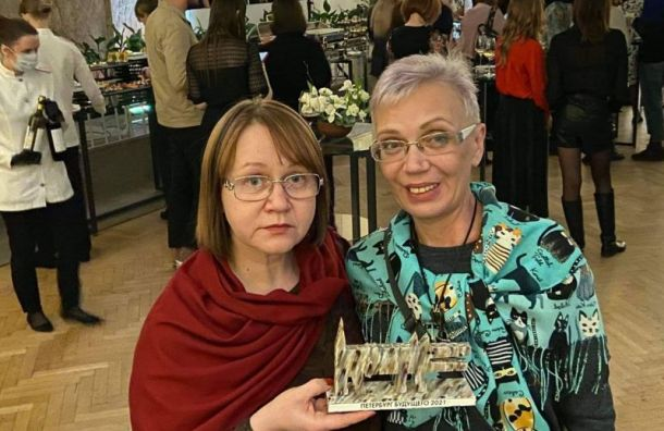 Журналистка MR7 Галина Артеменко получила премию «Петербург будущего 2021»