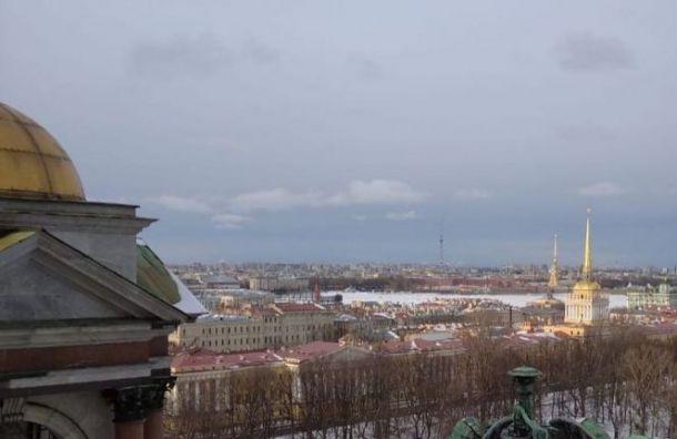 Мороз иснег непорадуют петербуржцев вМеждународный женский день