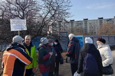 Жители Купчина выступили против застройки сквера наДундича