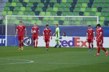 Молодежная сборная России крупно уступила Дании ивылетела сЕвро-2021