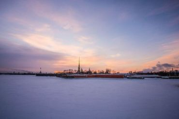 Морозы покидают Петербург вместе сантициклоном