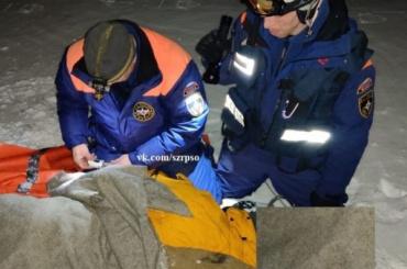 Сноубордист изПетербурга сорвался сосклона вХибинах