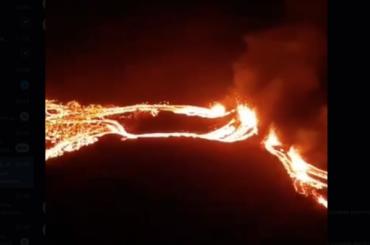 Вулкан, спавший 6 тысяч лет, проснулся отземлетрясения