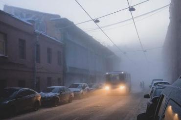 Сильный туман накроет Петербург утром 27марта
