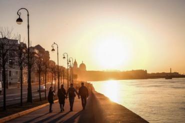 Антициклон принесет вПетербурге потепление до +11 градусов