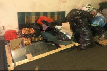 Житель Литейного округа заметил склад пищевых отходов варке