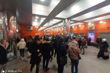 Работа метро Петербурга восстановлена