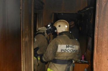 После пожара вквартире наКупчинской улице нашли труп пенсионерки