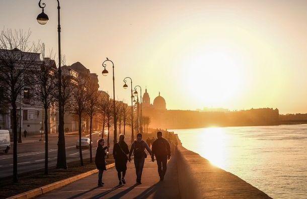 ВПетербурге 2марта ожидается теплая ветреная погода без осадков