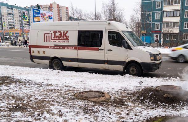 Жители города Колпино из-за реконструкции теплосети остались без отопления