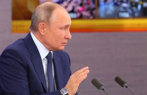 Путин сделал вторую прививку откоронавируса