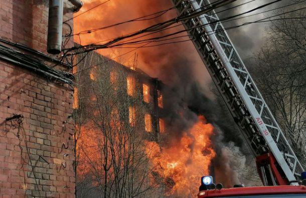 Беглов выразил соболезнования семьям пожарных, пострадавших вНевской мануфактуре