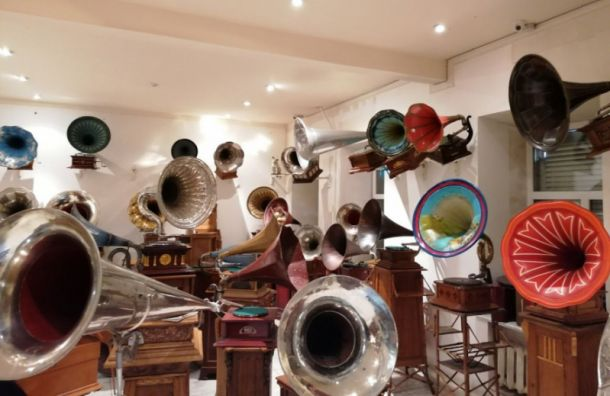 Музей граммофонов спасён