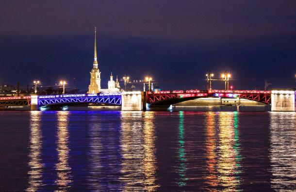 Дворцовый мост засветится сине-красными огнями вчесть Дня работника скорой помощи