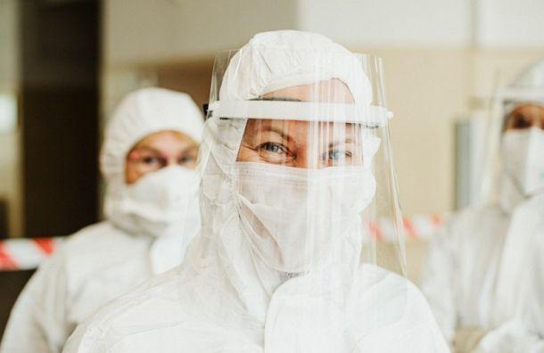Число больных коронавирусом вПетербурге уменьшилось вмарте на32%