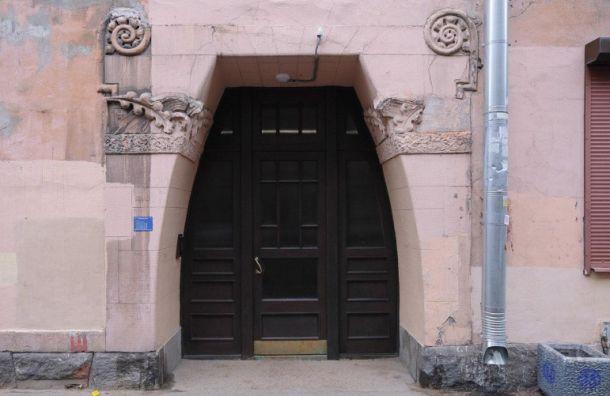 Вдоме Эрлиха иЭттингера воссоздали историческую парадную дверь