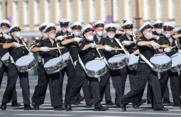 НаДворцовой пройдет репетиция военного оркестра перед парадом Победы