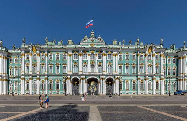 Зимний дворец занял третье место всписке самых популярных вмире дворцов