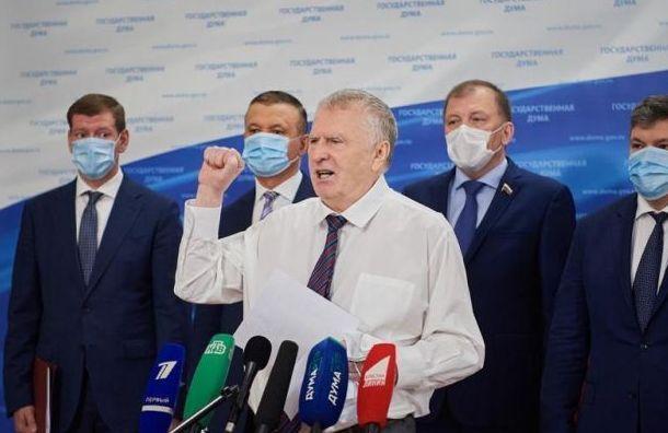 Беглов поздравил Жириновского сюбилеем