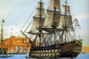 Вакватории Невы появятся копии боевых парусников для туристов
