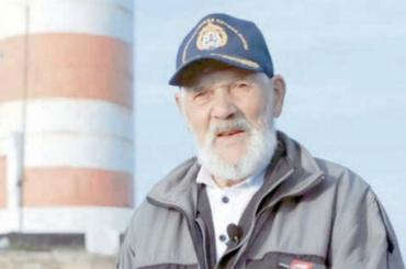Наострове Гогланд отметил 80-летний юбилей старейший вРоссии начальник маяка