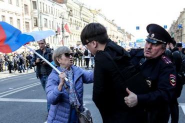 Первомайские шествия вПетербурге несостоятся