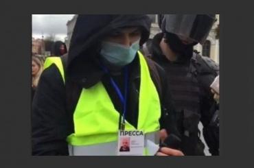Как вПетербурге целый день ловили сотрудника штаба Навального