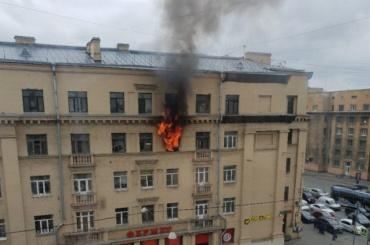 При пожаре вкоммуналке наЗаневском проспекте погиб человек