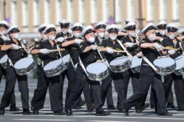Репетиция парада Победы пройдет 19апреля наДворцовой площади