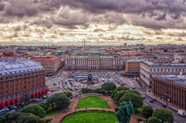 Петербург стал вторым вРоссии поиндексу качества городской среды
