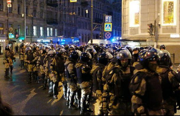 ВПетербурге возбудили уголовное дело опризывах кмассовым беспорядкам