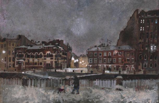 Вмузее Достоевского можно увидеть «Воду икамень» Петербурга
