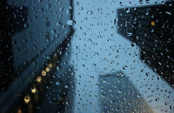 Петербург попал под влияние обширной циклонической депрессии