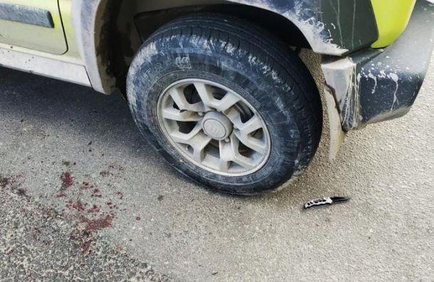 Таксист-мигрант зарезал неуступившего ему дорогу водителя