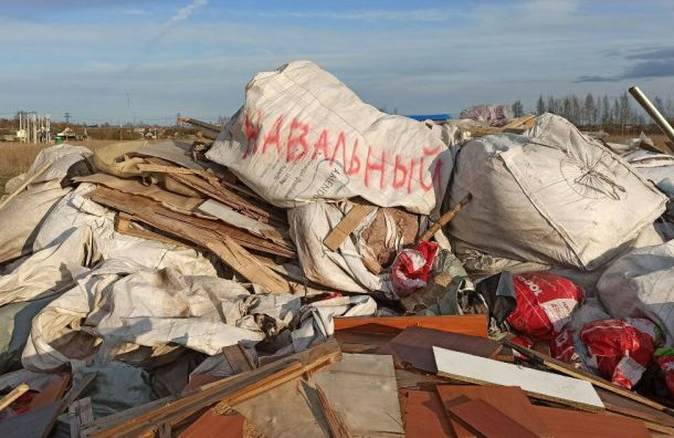 Жители Ленобласти борются смусором спомощью Навального