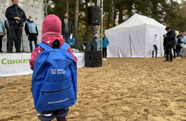 Петербуржцы очистят берег Финского залива наВасильевском острове