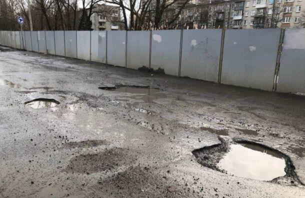 Жители поселка Шушары требуют ремонта наШкольной улице
