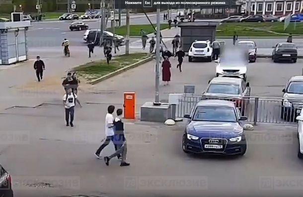 Более 40 человек задержали после массовой драки вПриморском районе