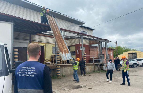 Калининскую овощебазу освободили отнезаконных построек